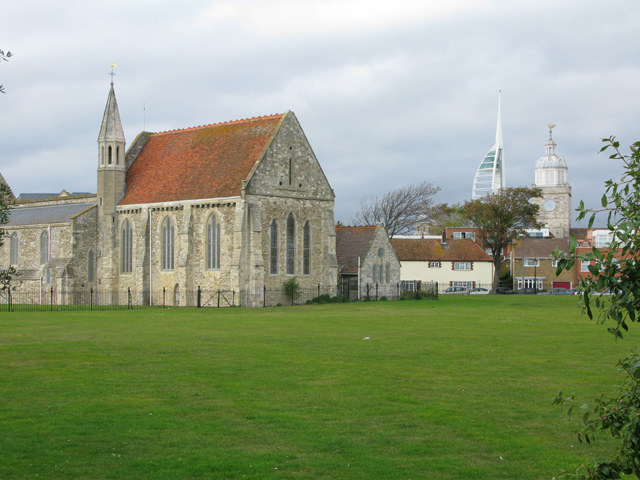 Royal Garrison Church on Governer's Green