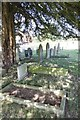 SO0864 : Graves under the yew by Bill Nicholls