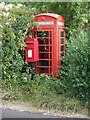 TM1973 : Disused Telephone Box by Keith Evans