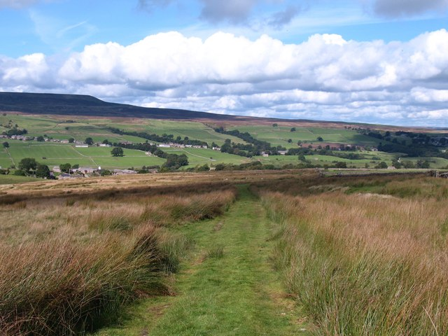 Bridleway to West Scrafton