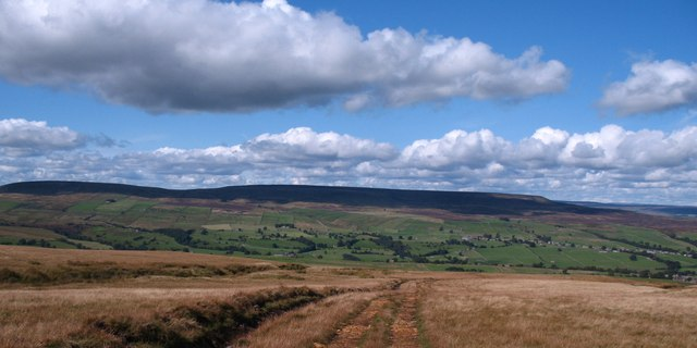 Bridleway on West Scrafton Moor