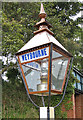 TG1141 : Platform light, Weybourne Station by Pauline Eccles