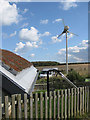 TG0543 : Renewable energy, NWT Cley Marshes by Pauline Eccles