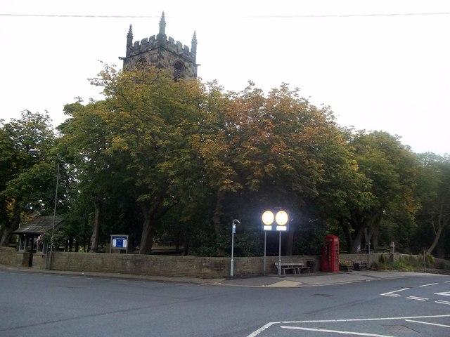 Autumnal Colours near Penistone Parish Church