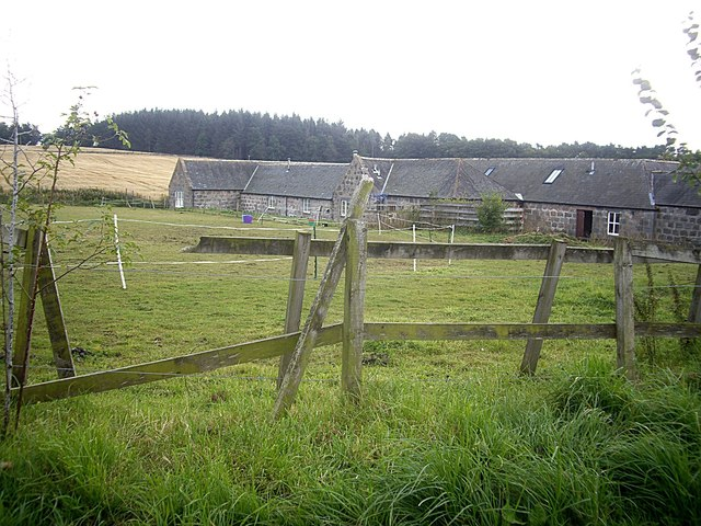 Mains of Craigmyle steading