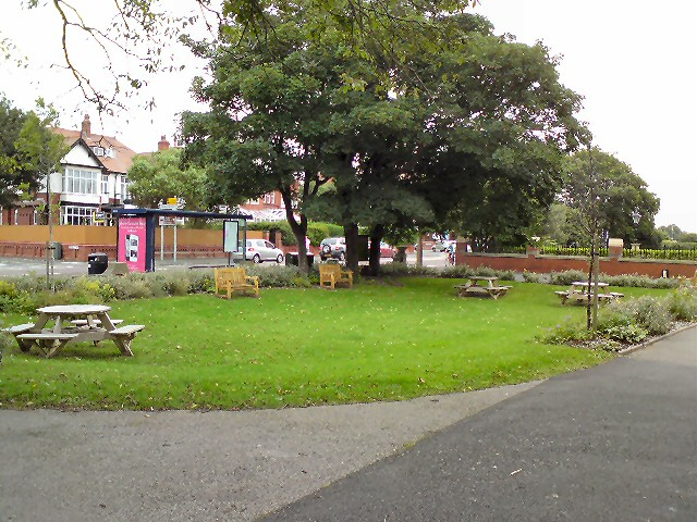 St Annes Library front garden