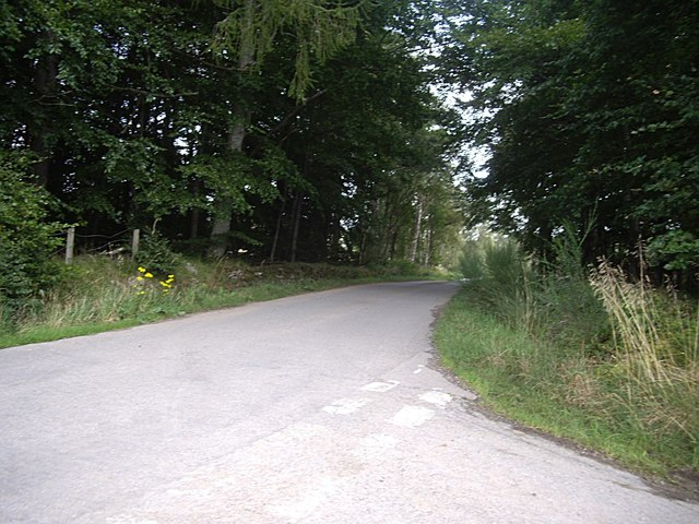 A junction of minor roads