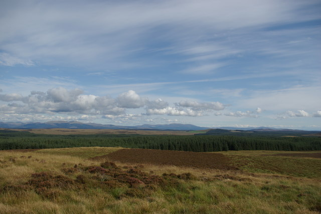 View from eastern slopes of Quarter Fell