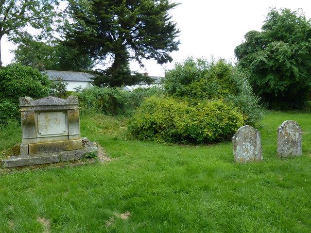 St Michael & All Angels, Weyhill: churchyard (F)