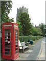 TM2072 : Telephone Box by Keith Evans