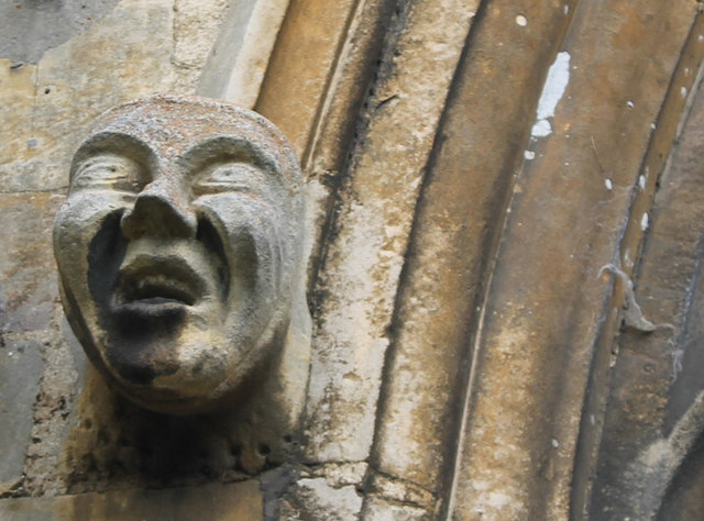 Grotesque, St John the Baptist church, Morton