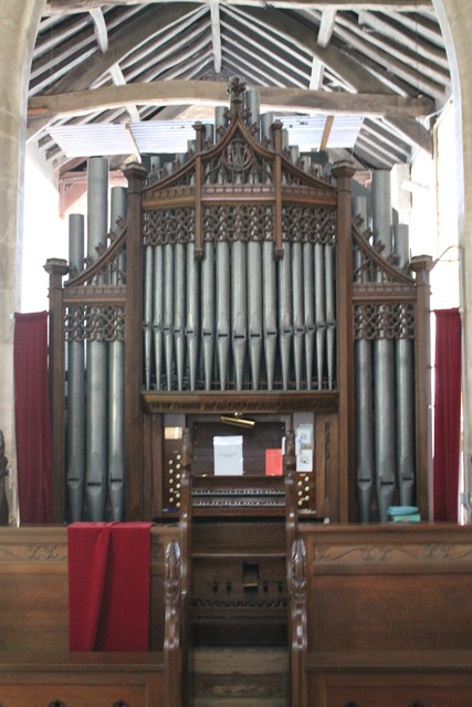 Organ, St John the Baptist church, Morton