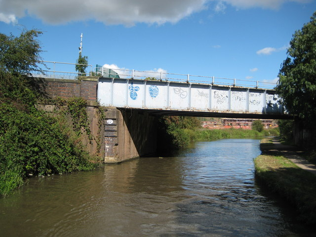 Coventry Canal: Bridge Number 22A: Midland Railway Bridge