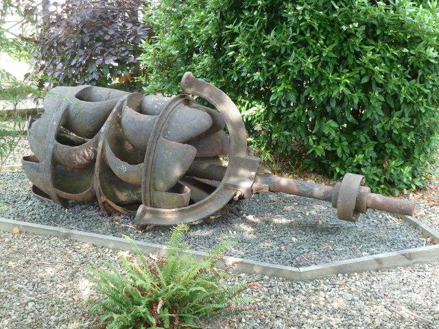 Totnes - former water turbine
