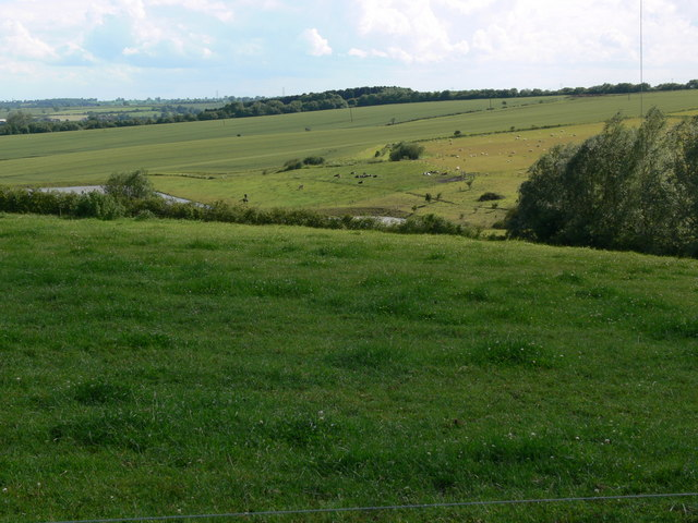 Farmland on the site of the former Asfordby coal mine