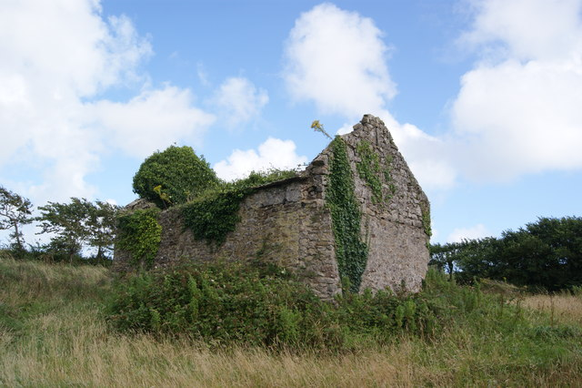 Old barn at East Moor Farm
