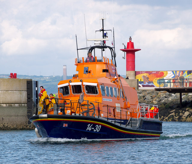 Larne Lifeboat at Bangor