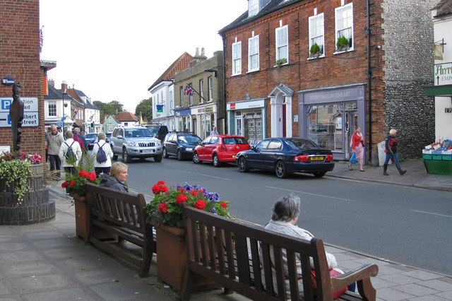 A seat on the high street