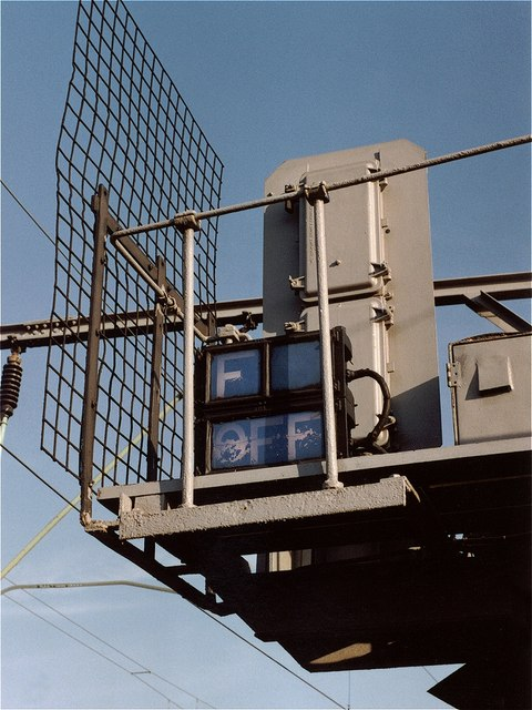 Stockport signals F OFF