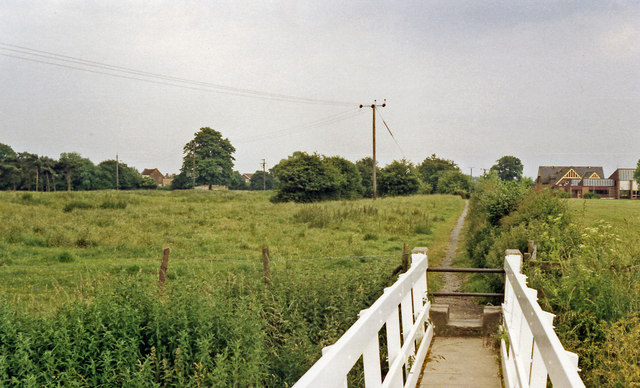 Site of Cawood station, 1988