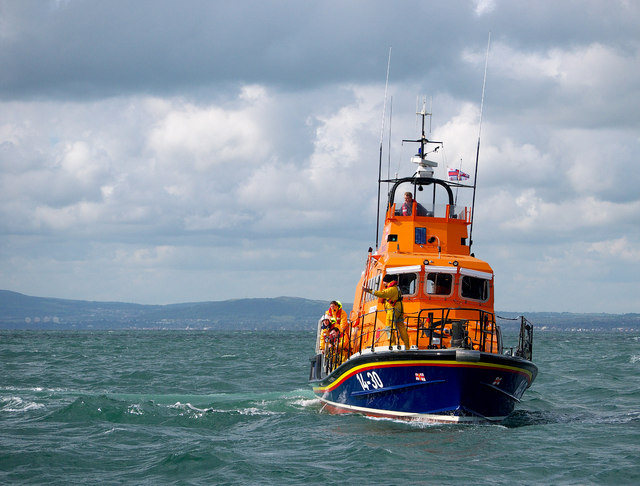 Larne Lifeboat, Belfast Lough
