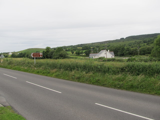 Scattered rural settlement on the outskirts of Holywell, Co Fermanagh