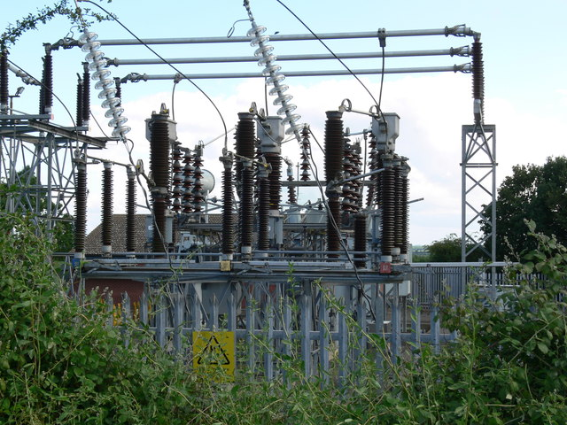Asfordby electricity sub station