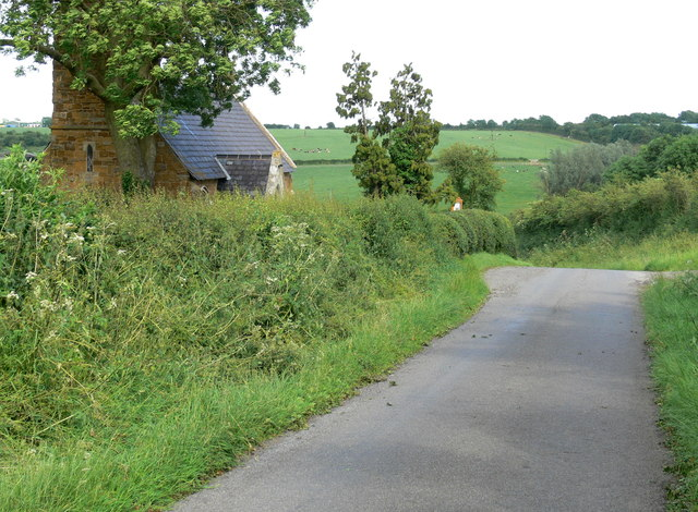 Welby church and lane