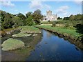 S7909 : The creek below Tintern Abbey by Oliver Dixon
