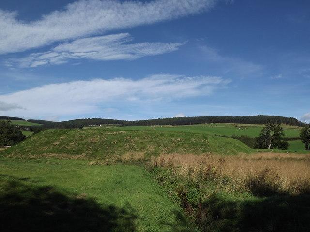 Peel Bog of Lumphanan Castle