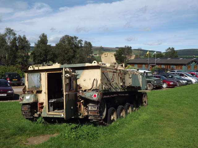 Caterpillar-Tracked Vehicle