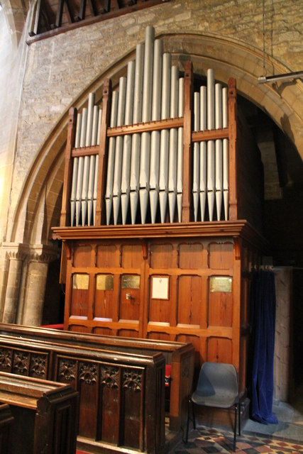 Organ, St Andrew's church, Folkingham