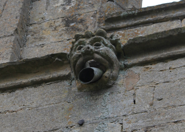 Gargoyle, St Andrew's church, Folkingham