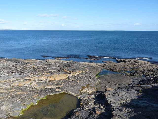 Coastal rocks near Slade