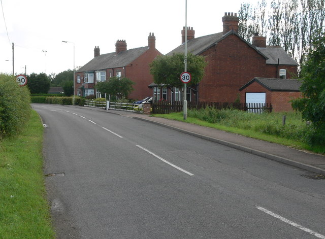 Welby Road in Asfordby Hill