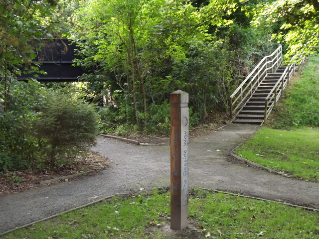 Deeside Way, Glebe Park