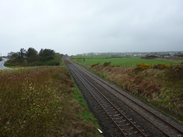 Looking northwest towards Seascales
