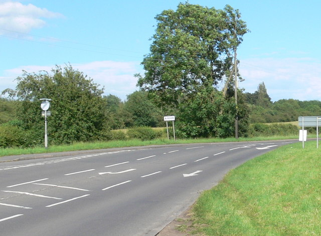 A6006 Melton Road at Asfordby Valley