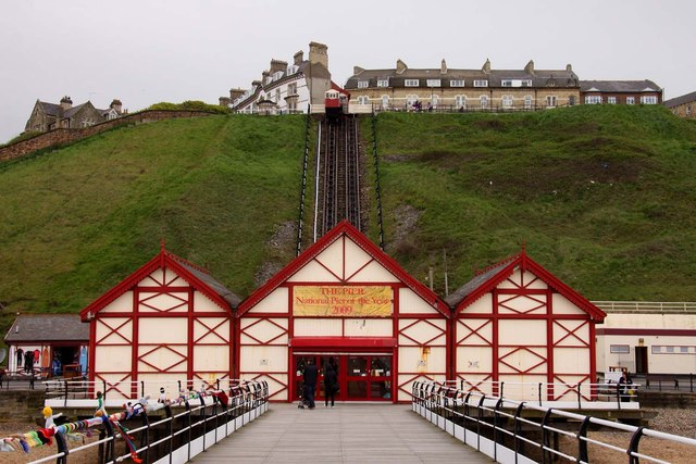 Entrance Building, Saltburn Pier
