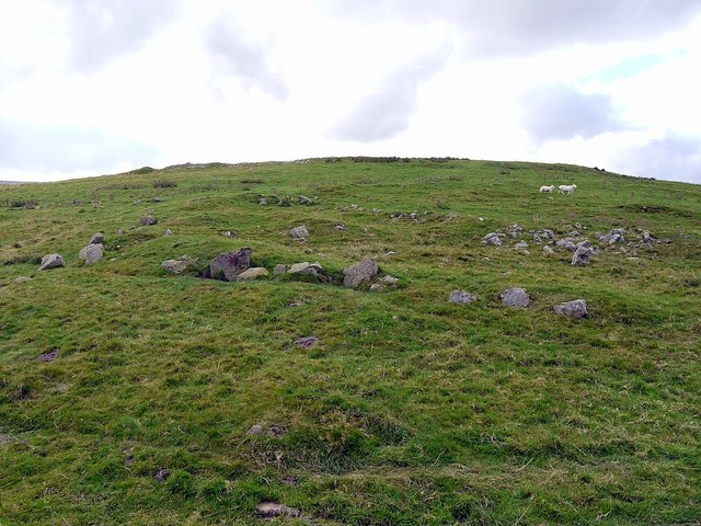 North-east side of Hartside Hill