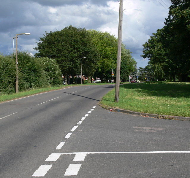 Loughborough Road in Asfordby