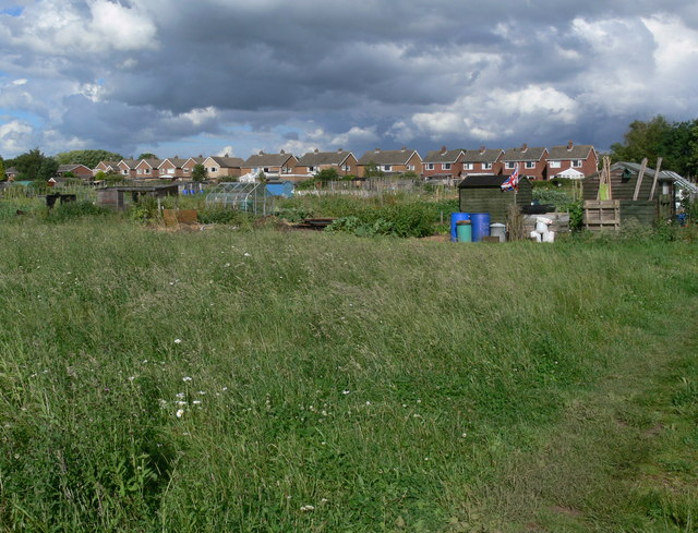 Allotments in Asfordby
