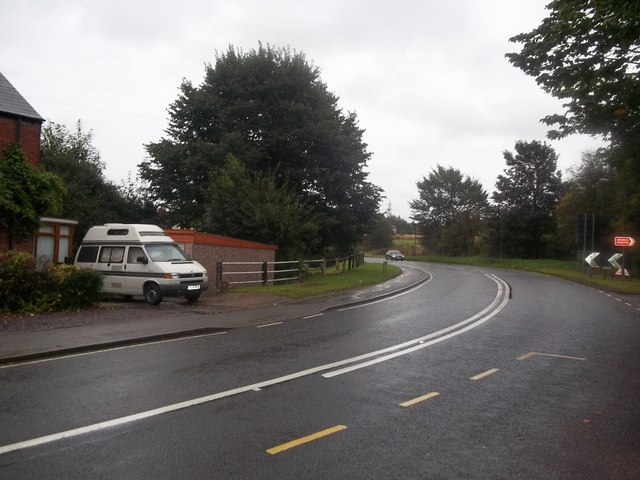 Mansfield Road near Grassmoor Country Park