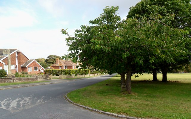 Junction of North Road and The Broadway, Alfriston