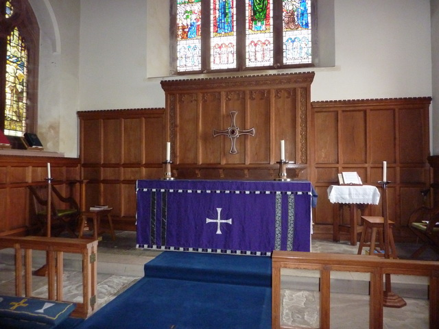 St Cuthberts Church, Seascale, Altar