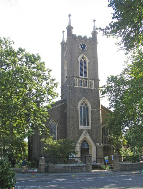 St Peter, Northchurch Terrace, De Beauvoir Park