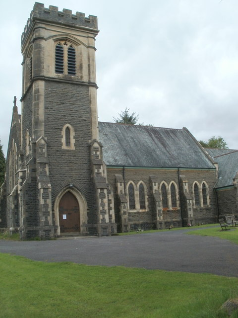 Church tower, St David's, Abercrave