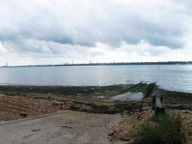 Weston Hard slipway