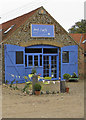 TG0441 : Art Cafe, Manor Farm Barns, Glandford by Pauline Eccles