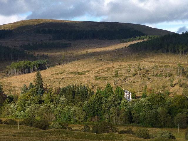 Dalnaglar Castle, Glen Shee